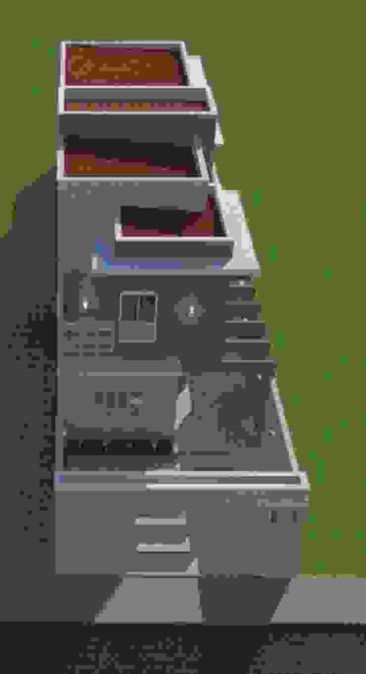 Modern Houses by AJR ARQUITETURA Modern