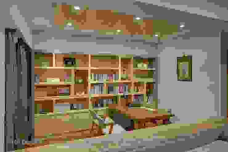 開放書房 根據 Hi+Design/Interior.Architecture. 寰邑空間設計 北歐風