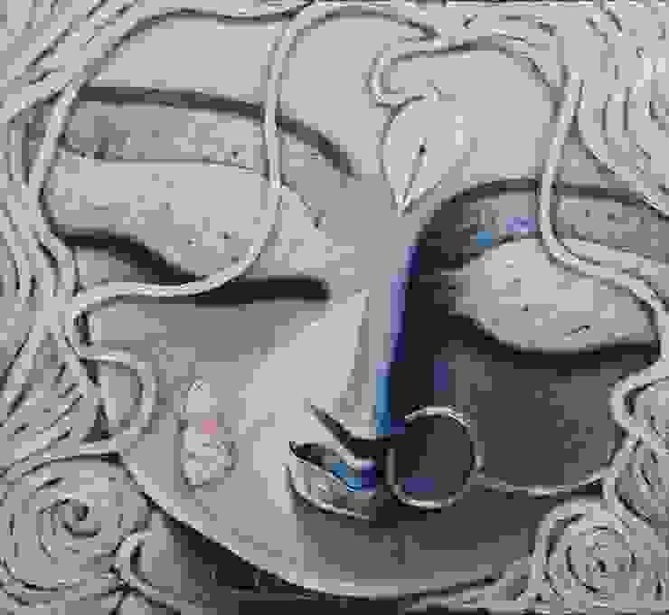 Trinayani: asian  by Indian Art Ideas,Asian