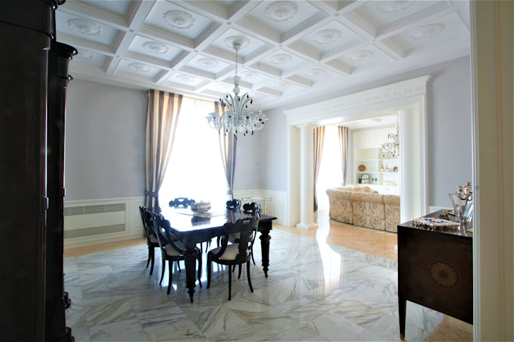 Imperatore Architetti Klassische Esszimmer