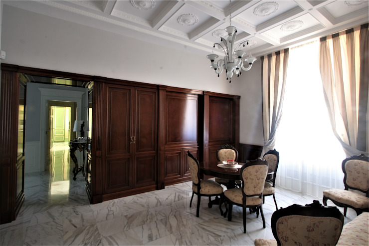 Imperatore Architetti Klassische Arbeitszimmer