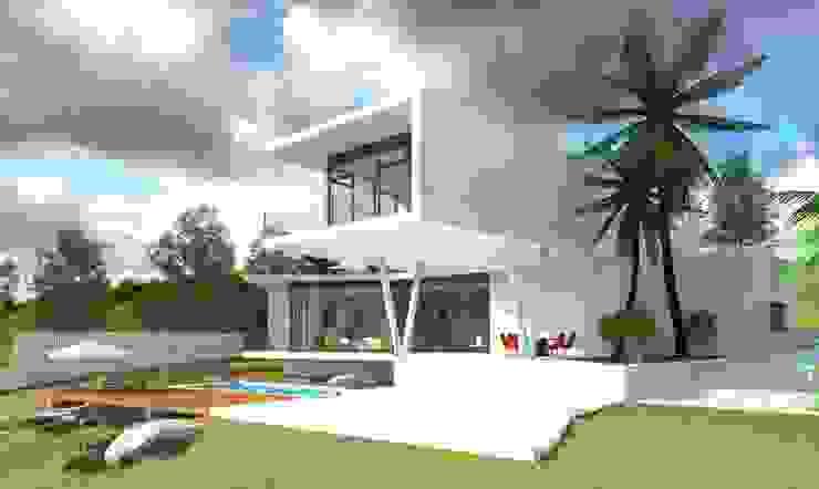 Rumah Modern Oleh GILMARQUEZ ARQUITECTOS Modern Beton
