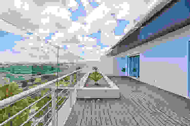 Terraço: Terraços  por menta, creative architecture