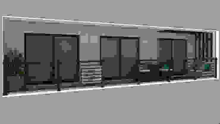 Hiên, sân thượng phong cách hiện đại bởi Ana Andrade - Design de Interiores Hiện đại