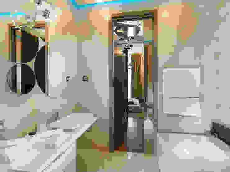 Modern Bathroom by FDR architetti -francesco e danilo reale Modern