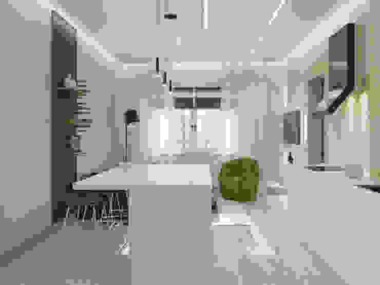 Minimalist kitchen by ДОМ СОЛНЦА Minimalist