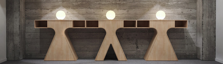 modern  by FDR architetti -francesco e danilo reale , Modern Wood Wood effect