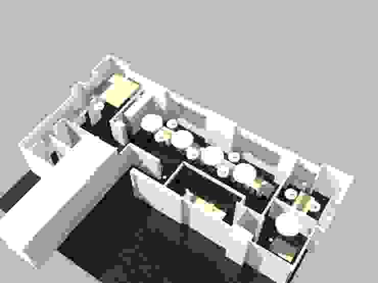 Render 1 Propuesta de Danncas interior design Minimalista