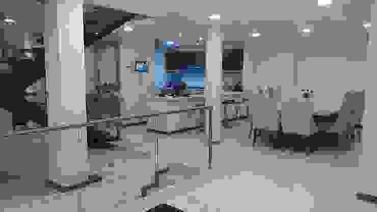 Construcciones Cubicar S.A.S 現代廚房設計點子、靈感&圖片