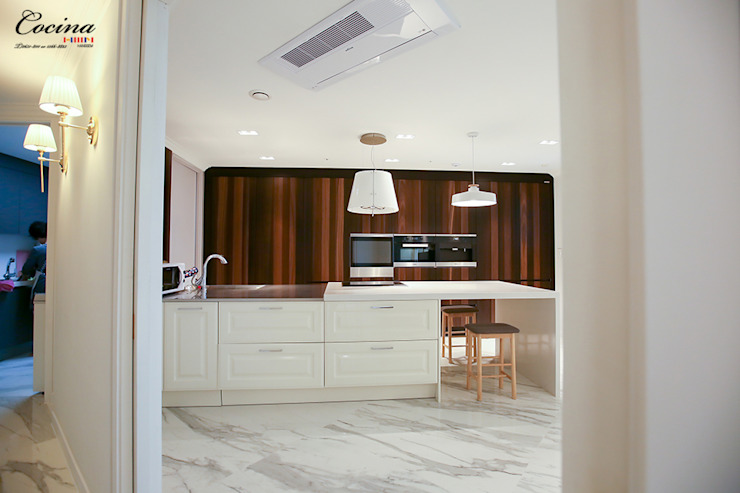 Modern Kitchen by cocina Modern MDF