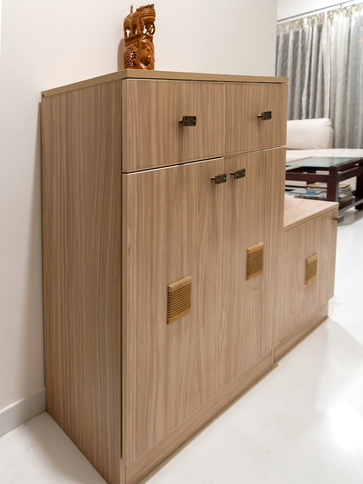 Shobha Marvella Modern living room by Wenzelsmith Interior Design Pvt Ltd Modern