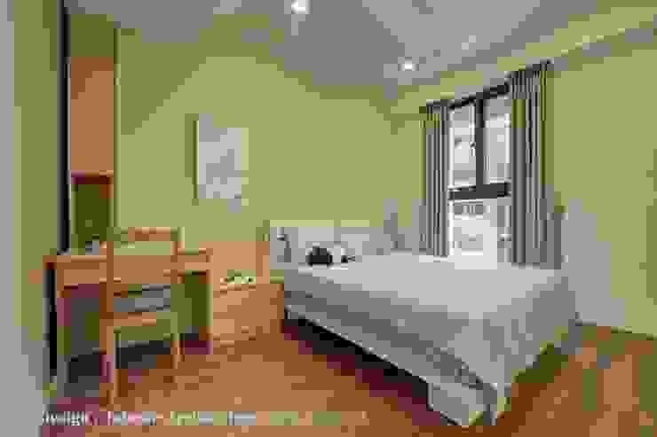 次臥室 根據 Hi+Design/Interior.Architecture. 寰邑空間設計 現代風