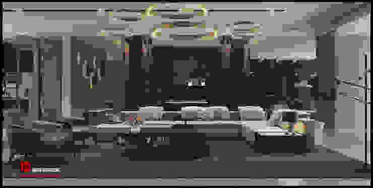 Ciputra Villa bởi Công ty CP Kiến trúc và Đầu tư Xây dựng Hà Nội A&More Hiện đại