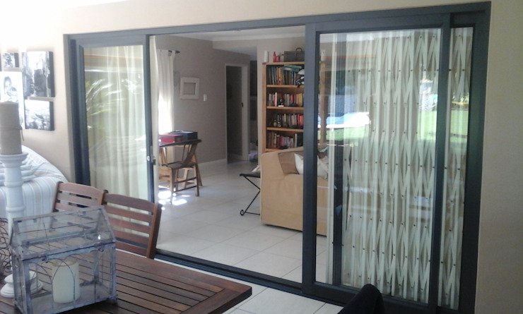 patio sliding door - after by ALUWOOD WINDOWS AND DOORS