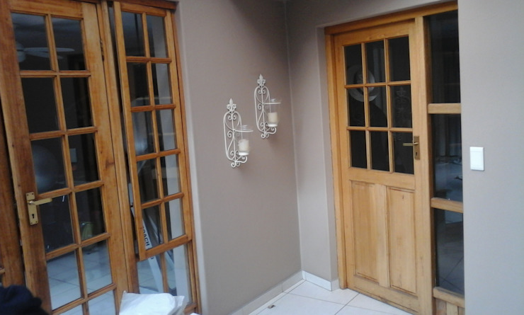 front door - before by ALUWOOD WINDOWS AND DOORS