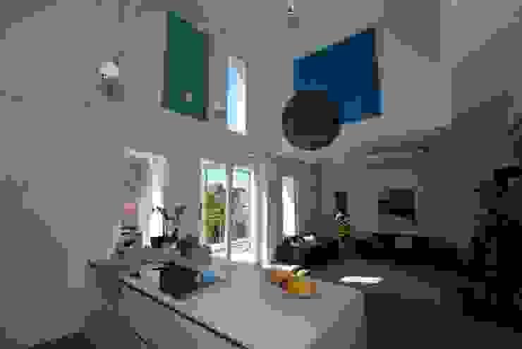 Akustikbilder und Wandabsorber in allen Farben Moderne Küchen von freiraum Akustik Modern Aluminium/Zink