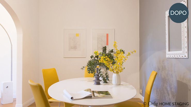 Modern dining room by ONLY HOME STAGING Modern