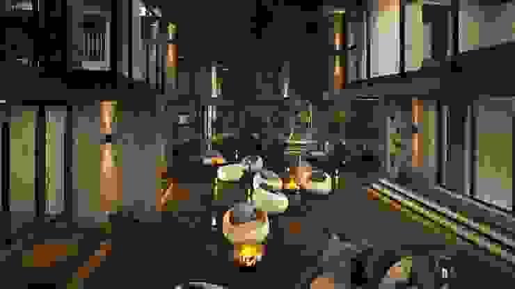 羊灣villa 根據 禾御建築室內設計有限公司 北歐風