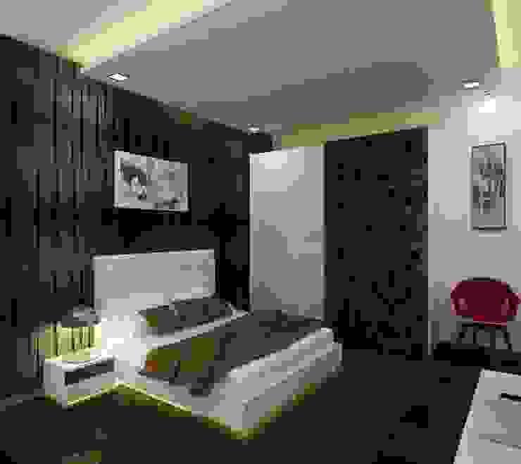 Master Bedroom Modern style bedroom by A Design Studio Modern