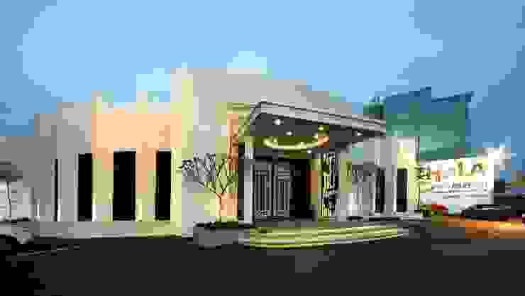 東大接待中心 根據 禾御建築室內設計有限公司 古典風
