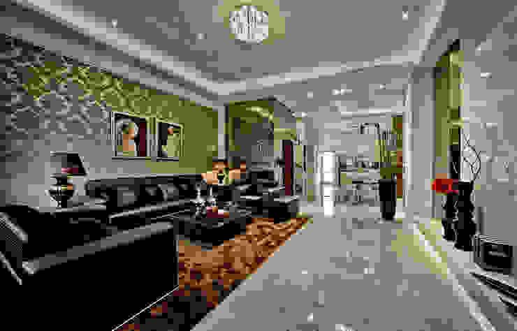 奢華居家 Asian style houses by 禾御建築室內設計有限公司 Asian