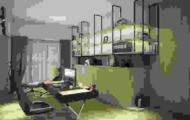 輕時代 Modern style study/office by 禾御建築室內設計有限公司 Modern