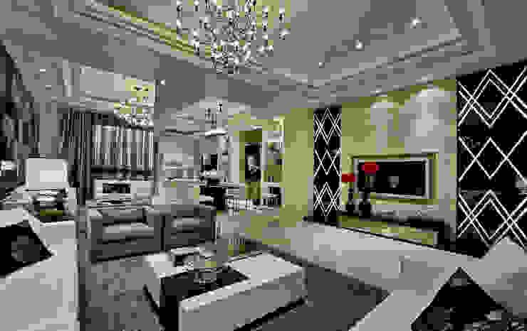 低調的奢華 by 禾御建築室內設計有限公司 Modern