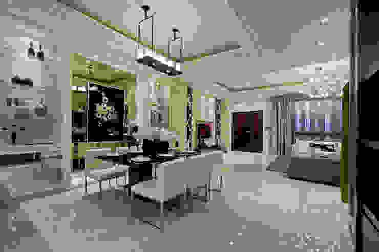 開放豪宅 Modern dining room by 禾御建築室內設計有限公司 Modern