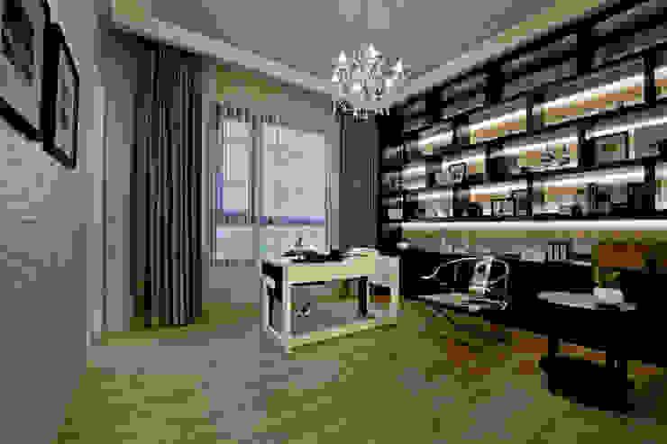 展示及式收納 Modern style study/office by 禾御建築室內設計有限公司 Modern