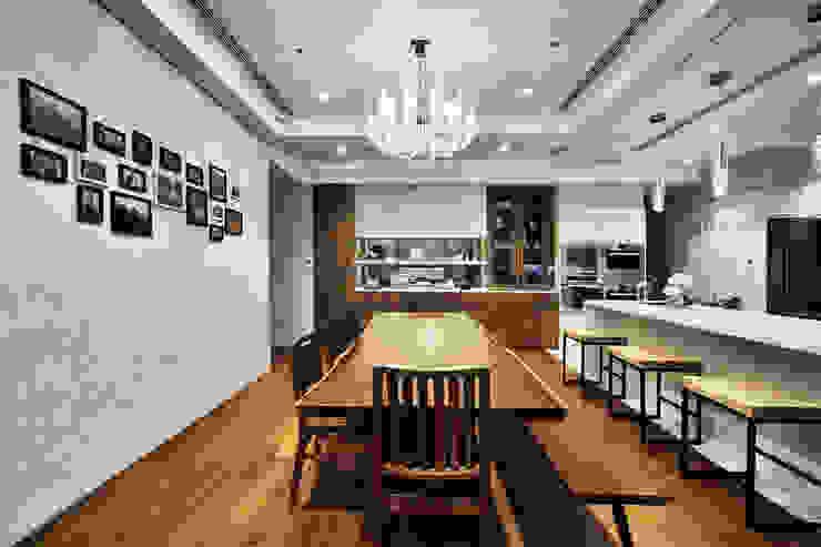 奢華鄉村 Mediterranean style dining room by 禾御建築室內設計有限公司 Mediterranean