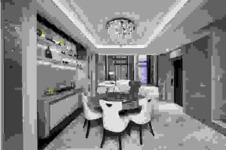 Projekty,  Jadalnia zaprojektowane przez 禾御建築室內設計有限公司