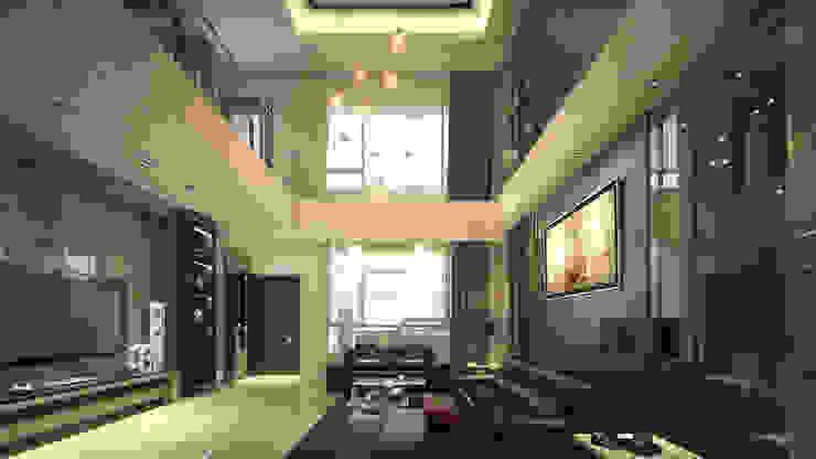 權威住宅 by 禾御建築室內設計有限公司 Classic