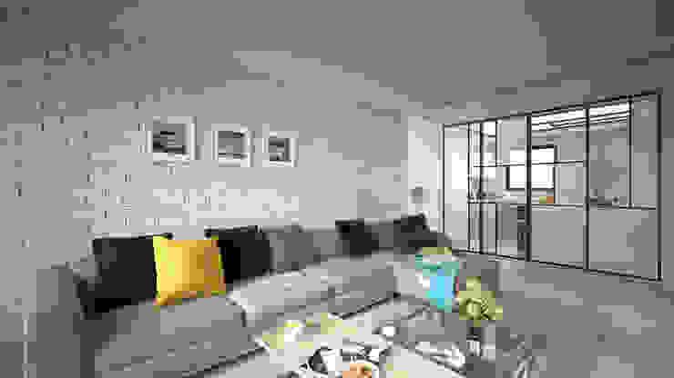 放鬆之家 by 禾御建築室內設計有限公司 Mediterranean