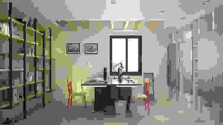 Modern dining room by 禾御建築室內設計有限公司 Modern