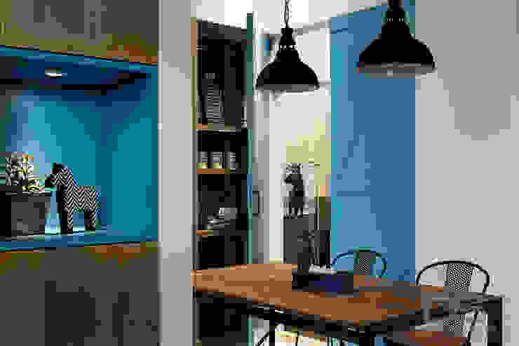 頭份 藍調漫遊 根據 DS亦沐空間創意整合 北歐風