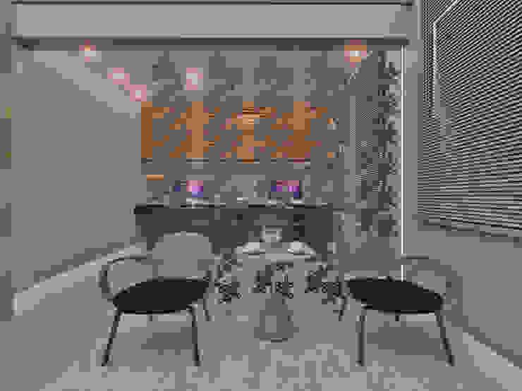 Studio Diego Duracenski Interiores Modern Living Room Glass Transparent