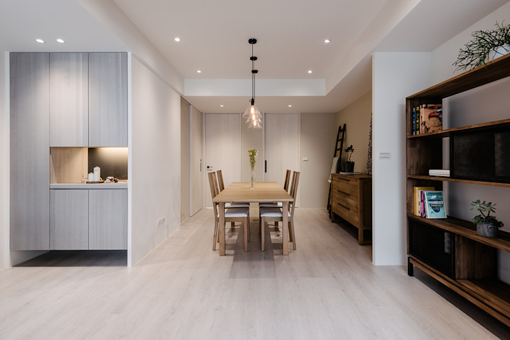 Eclectic style dining room by 隹設計 ZHUI Design Studio Eclectic