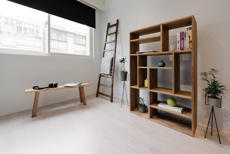 Eclectic style study/office by 隹設計 ZHUI Design Studio Eclectic