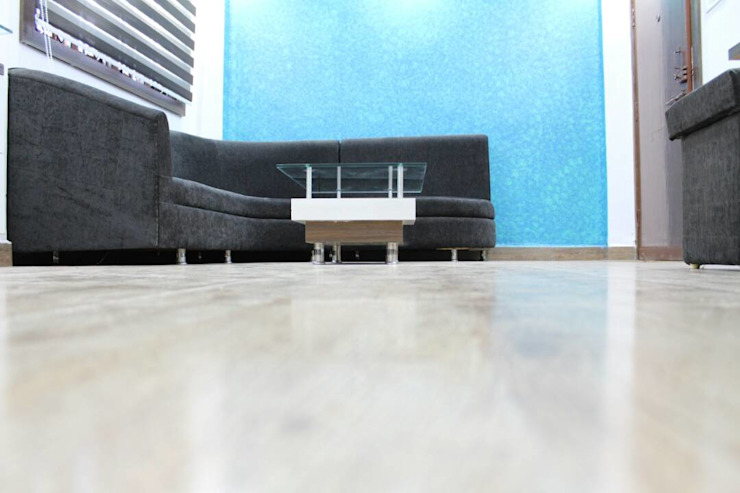 Mr and Mrs khandelwal's House Modern living room by Grace Decore Modern Plywood