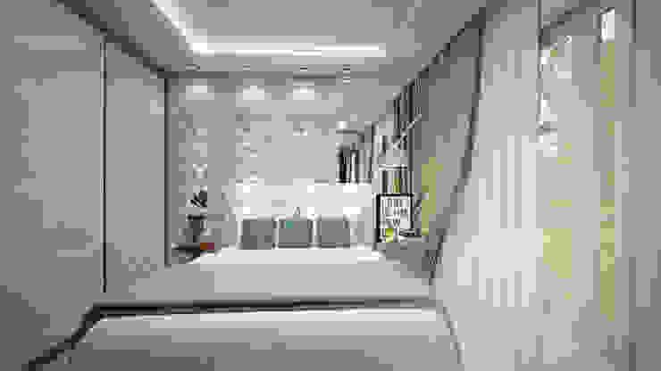 Dormitorios de estilo moderno de Evelyn Silvestre Arquitetura e Urbanismo Moderno