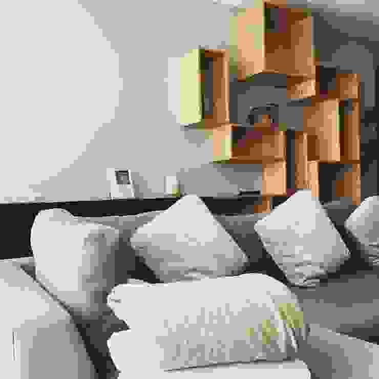 Librero Modular Clorofilia VestidoresArmarios y cómodas Derivados de madera Acabado en madera