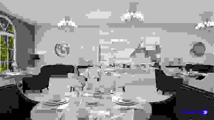 Restaurant in art-deco style by 'Design studio S-8' Classic