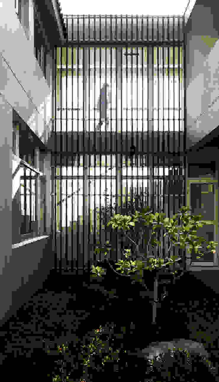 Glocal Architecture Office (G.A.O) 吳宗憲建築師事務所/安藤國際室內裝修工程有限公司 Nowoczesny ogród