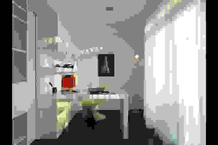 Bureau minimaliste par 邑法室內裝修設計有限公司 Minimaliste