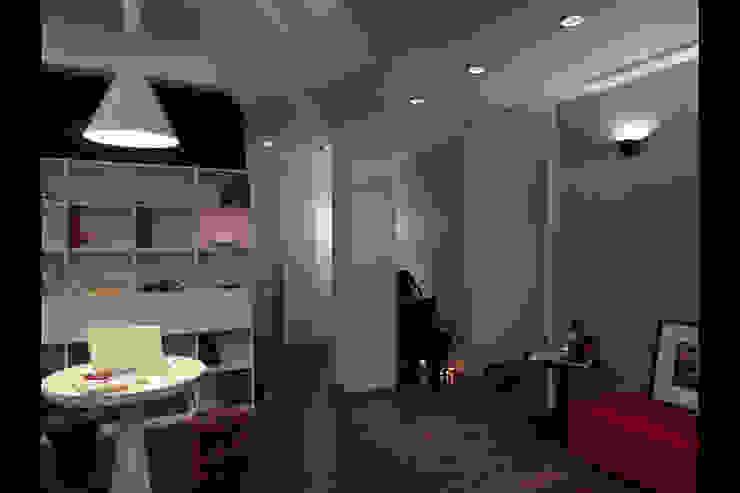 嘉義吳宅 根據 邑法室內裝修設計有限公司 現代風