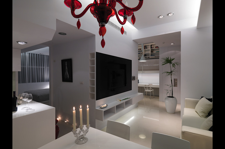 中和張宅 邑法室內裝修設計有限公司 客廳