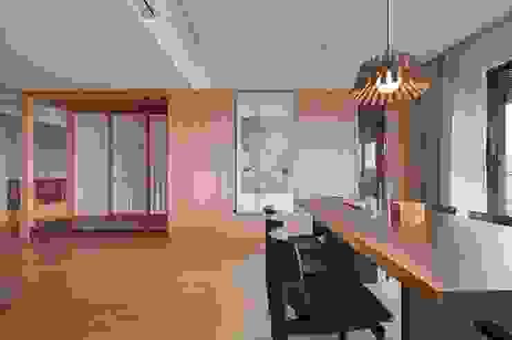 北投陳宅 根據 直方設計有限公司 日式風、東方風 實木 Multicolored