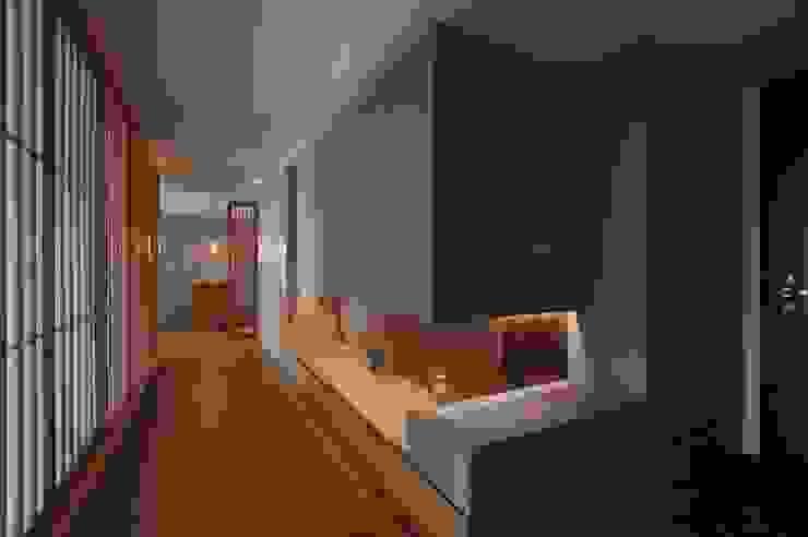 北投陳宅 亞洲風玄關、階梯與走廊 根據 直方設計有限公司 日式風、東方風 MDF