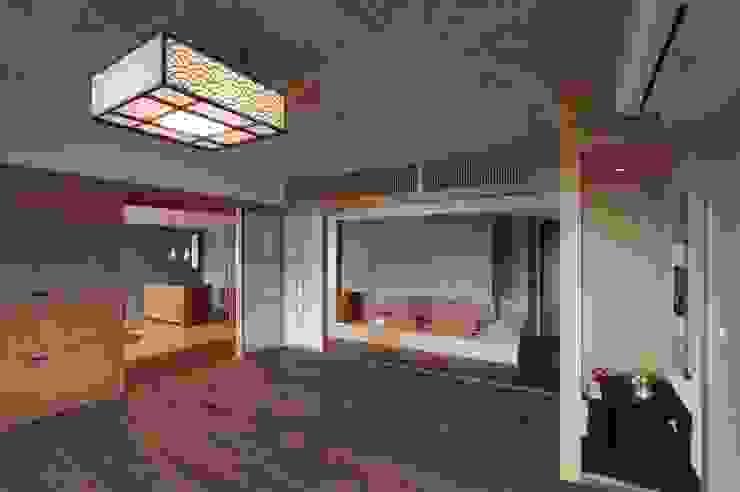 北投陳宅 根據 直方設計有限公司 日式風、東方風 複合木地板 Transparent