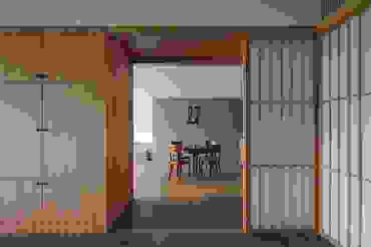 北投陳宅 根據 直方設計有限公司 日式風、東方風 木頭 Wood effect